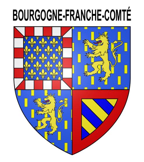 Blason officiel Bourgogne-Franche-Comté