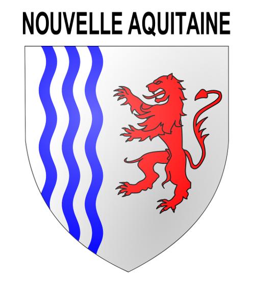 Blason officiel Nouvelle Aquitaine